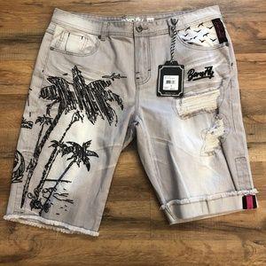 Other - Born Fly denim shorts
